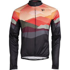PEARL iZUMi Elite LTD Thermo Langarm Trikot Herren mountain lava/screaming red